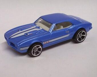 Hot Rod Magnet - 1967 Pontiac Firebird 400 - Hot Rod, Man Cave, Refrigerator, Tool Box, Magnet