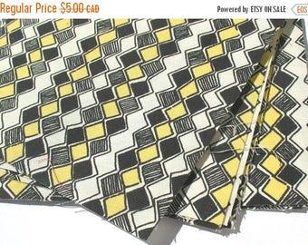 50% OFF - Honeycomb - IKEA Sebragras Cotton Fabric Quilting Charm Squares