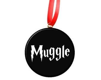 "Harry Potter Muggle 2.25"" Ornament"