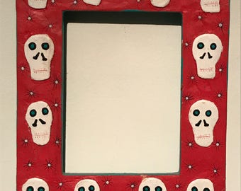 Day of the Dead, Oaxacan Folk Art FRAME, signed and numbered by artist