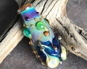 PARADISE FOUND - Artisan Lampwork, Handmade Lampwork Focal Bead, Glass Bead, HavanaBeads