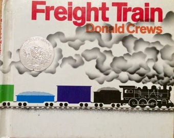 Vintage Children's Book Freight Train  by Donald Crews First Edition