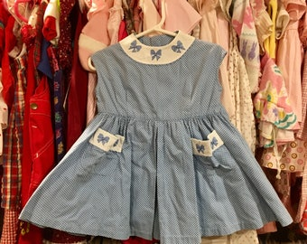 1950s Baby Dress 12/18 Months