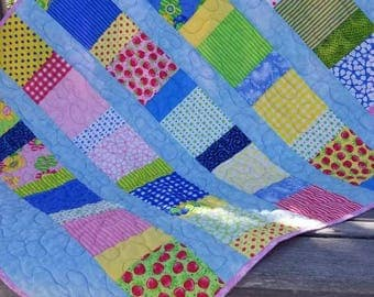 Summer Vibes Baby Quilt