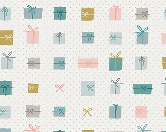 Remnants - Gifted - Little Town Collection by Amy Sinibaldi for Art Gallery Fabrics - AGLT221, AGLT222