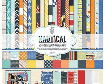 NOW ON SALE Fancy Pants Nautical 12x12 Collection Kit