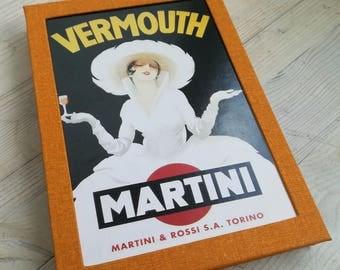 Retro Ad (a handmade notebook)
