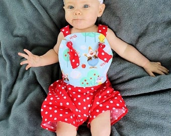 SALE Sun Suit Pattern Sewing Tutorial -- Sunny Day Suit -- PDF Girls up to 6 and baby boys up to 2t Instant