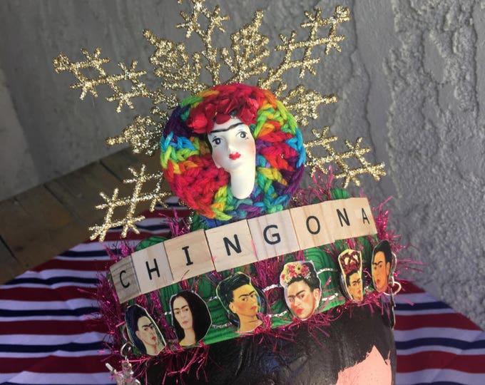 Affirmation Art Crown - Chingona