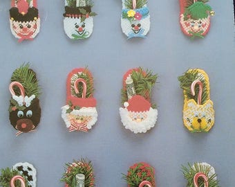Holiday Slippers Plastic Canvas Book