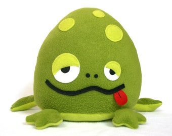 Bubbo the frog - Ready made plush toy