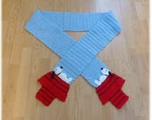 Reserved for Claudia Deposit Towards Snoopy Inspired Scarf Extra Long 8 Feet