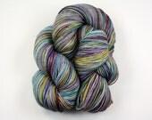 Zeppelin--hand dyed sock yarn, merino and nylon, (463yds/100gm)