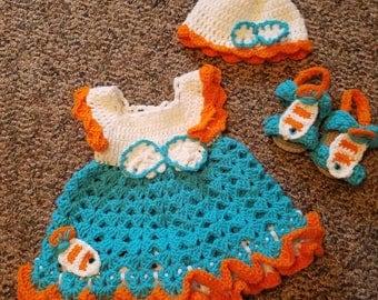 Nemo Inspired Baby Set