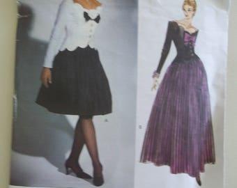 Bellville Sassoon ~ Vogue 1015 ~ Party Dress ~ Couture Pattern ~ Vogue Designer Pattern ~ Size 8