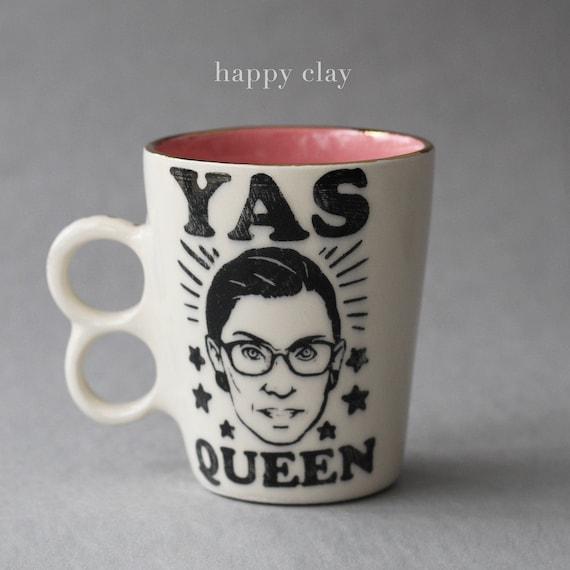 Ruth Bader Ginsburg YAS QUEEN Mug