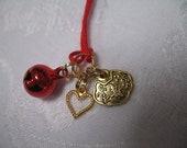 Viel Glück und lang anhaltende Liebe Amulett Talisman Omamori Charme