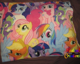 MLP Mane 6 & Spike pillowcase