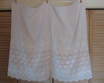 Vintage White Petticoat Remnant