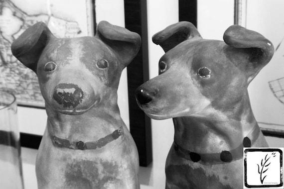 """Clay Dogs,"" Ben's Garden, Huntington, New York, 2017."