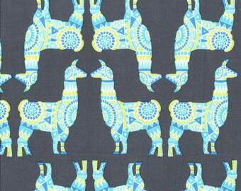 Llama Rama Spring - Michael Miller Fabrics CX7586-STREA 100% Quilters Cotton Available in Fat Quarter, Half Yard, Yard