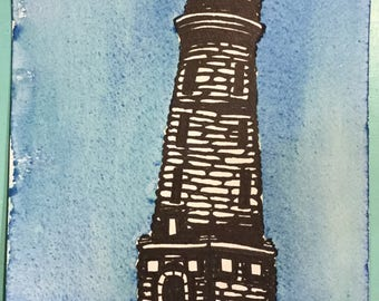 Wilder Tower Unframed Original Art