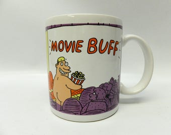Movie Buff mug - Shoebox Greetings