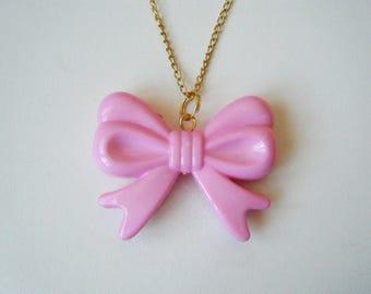 Pink pendant bow ♥ ♥