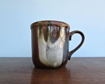 1970s Pottery Craft Stoneware Mug, MCM California Pottery