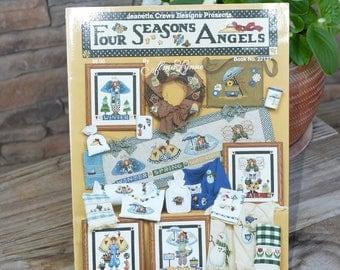 Four Season's Angels X-stitch Pattern Book