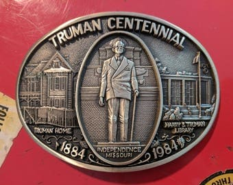 President Truman Centennial Limited Edition Belt Buckle