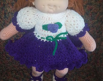Crochet Cabbage Patch Doll