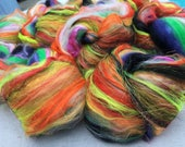 Doors of Hinterland 4.7oz Merino Art Batt • Spinning , Weaving, Needle Felting