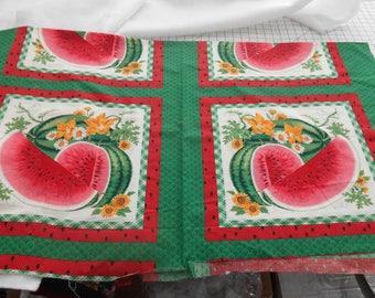 Watermelon quilt | Etsy : watermelon quilt - Adamdwight.com