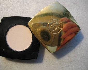 Vintage Coco Chanel Pressed Parfum Compact