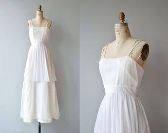 Copa Blanca wedding gown | vintage 1970s wedding | simple wedding dress