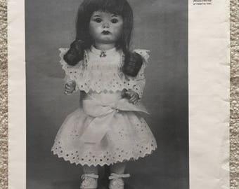 "Byron Doll Patterns: Dress for 9 1/2"" Doll"