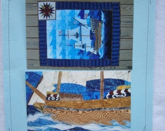 The Flagship Quilting Pattern Nautical Pattern