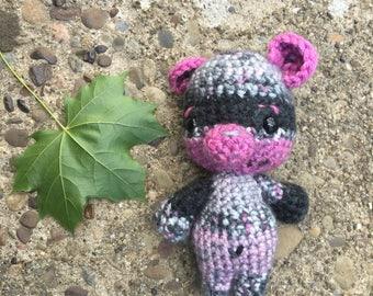 Pinky gray bear