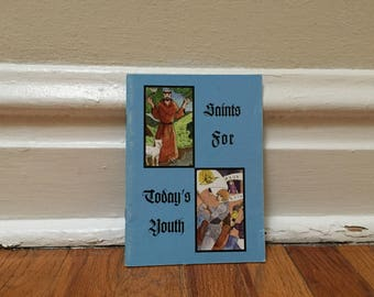 Saints Book Religious Children's Book Vintage Book Paperback Christian Catholic Bible Library St. Francis of Assisi St. Joan of Arc