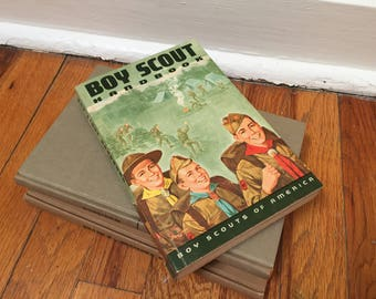 Boy Scout Handbook 1970 Vintage Book Paperback Children's Library