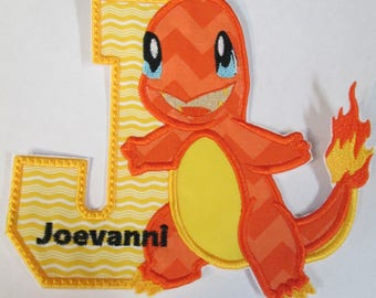 Game  Character Birthday Set - Iron On or Sew On Embroidered Applique or Fabric Patch