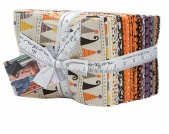 SUMMER SALE - Hocus Pocus - Fat Quarter Bundle (34) - Sandy Gervais for Moda Fabric