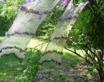 woodland faerie curtains from the enchanted forest -  gossamer daydream garden
