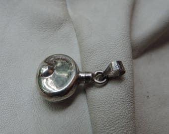 perfume pendant sterling silver handmade tiny perfume bottle