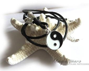 Necklace, men necklace, pendant, necklace, Tao Tai Chi Yin Yang, best friend necklace, yoga zen tao