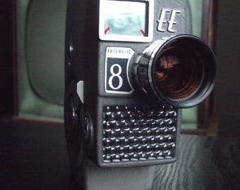 SALE 25% OFF 1960's Yashica EE Automatic 8 8mm Film Camera