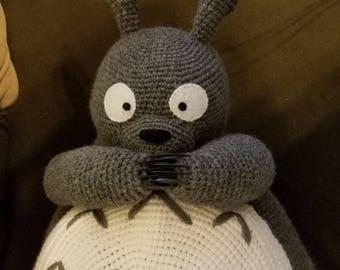 Giant Amigurumi Totoro