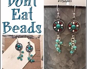 lightweight dangle earrings #17july803