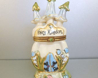 Heather Goldminc Fairy Kingdom Trinket Box